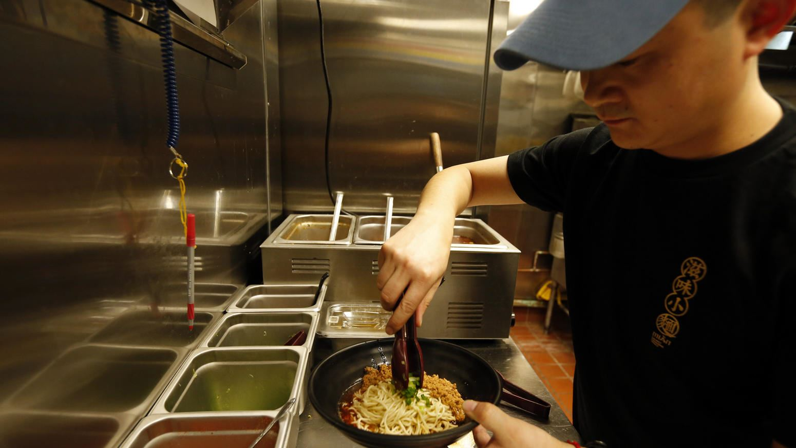 Chef at Mian Noodle