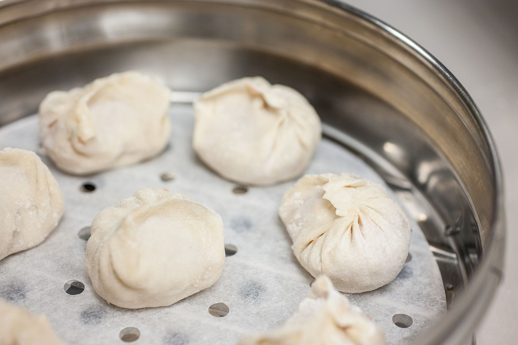 Dumplings Before Steamed